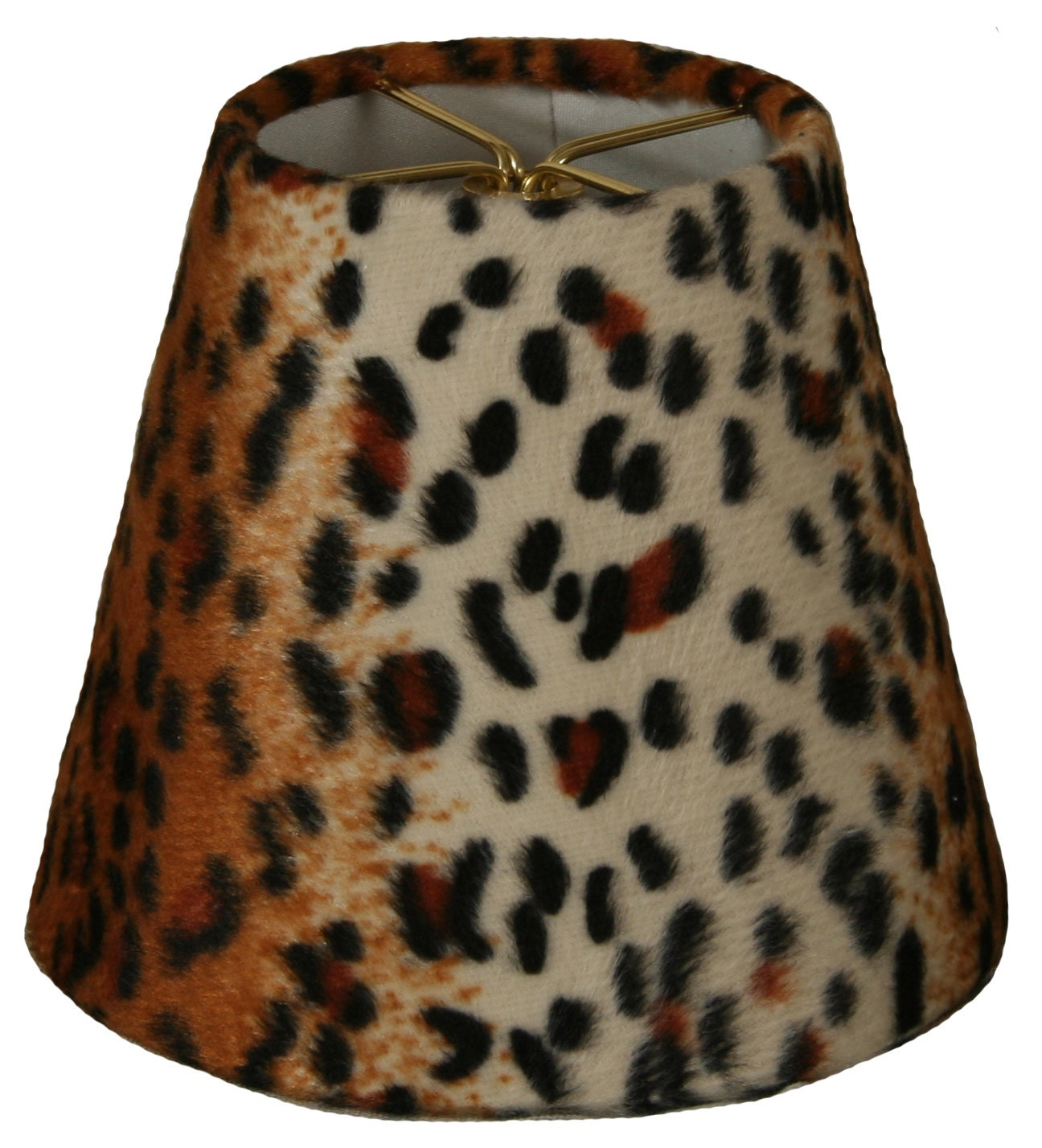 5 Black Amp Brown Small Leopard Print Chandelier Lampshade