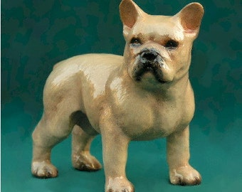 French Bulldog Figurine Collectible