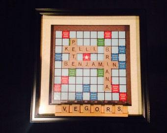 Scrabble Family Tree