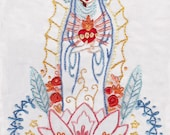 Our Lady Embroidery pattern PDF download hand embroidery patterns designs