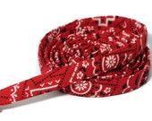 "XS Leash - Red Bandana - 3/8"" wide - 4 or 6 Feet long for Cats and Small Dogs"