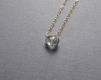 Tourmalated Quartz Gold Filled Necklace or choose your semi precious stone