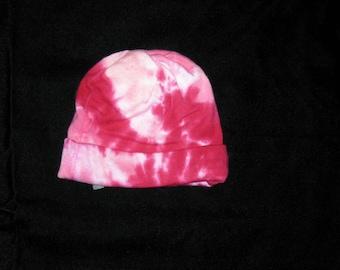 Tye Dye Bamboo Newborn Hat