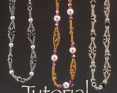 Beaded Chain Tutorial O Chain, Chain, Chain with O beads or Daisy Spacers Digital Download