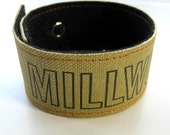 Book Binding Cuff/Bracelet/Bookmark:  MILLWORK