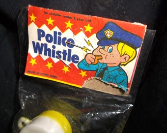 Vintage Toy Police Whistle