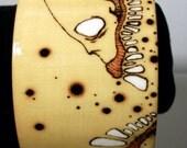 Skull Slug Zombie Head Bracelet