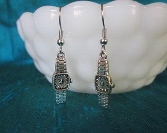 Little Watch Earrings