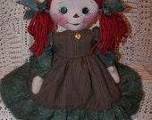 PDF Joslyn Annie Primitive Folk Art Raggedy Doll Pattern   ET