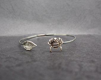 spider bracelet wrap style