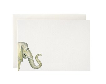 Elephant Flat Notecards