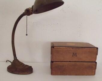 Vintage Industrial Modern Gooseneck Desk Lamp