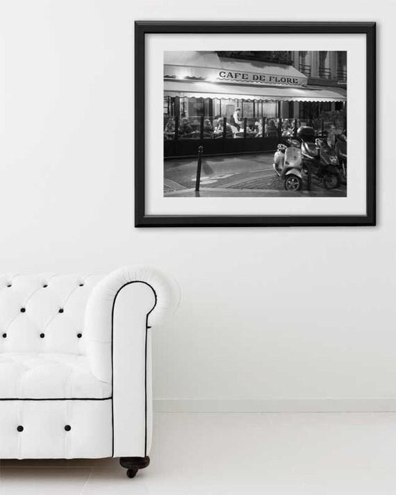 """SALE! Paris Print, """"Flore"""" Extra Large Wall Art, Paris Photography Art Print, Oversized Art, Fine Art Photography Paris Decor"""