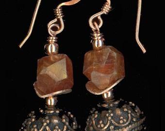 Copper and Hessonite