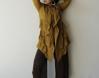 Sweet love...jacket tunic blouse...mix silk all colors/ all sizes