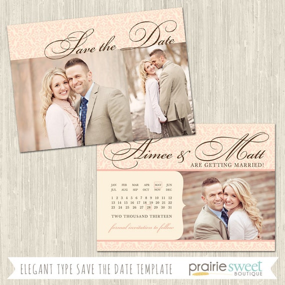 6 Etl Business Requirements Specification Template Reyri: Elegant Typography Save The Date Photoshop Template For