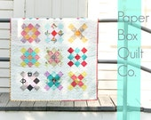 Funky Patchwork Baby/Crib Quilt