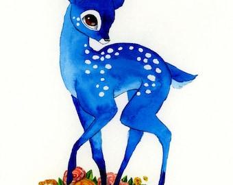 Blue Fawn - 8x10 print