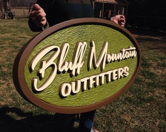 Custom Sign - Hand Carved Business, Cottage, Personal, House, Camp, Lodge, Store, Cabin