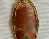 Wire Wrapped Red Creek Ja...