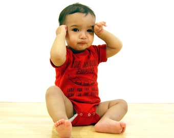 CLEARANCE  Klingon Empire- Star Trek Inspired Baby Bodysuit- Pick Your Size