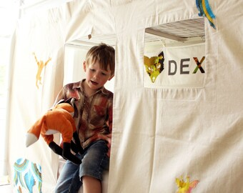 Bunk Bed Tent - Animals design