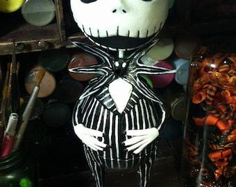 Custom Jack Skellington doll