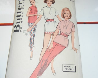 Butterick 9377 pattern complete early 1960s