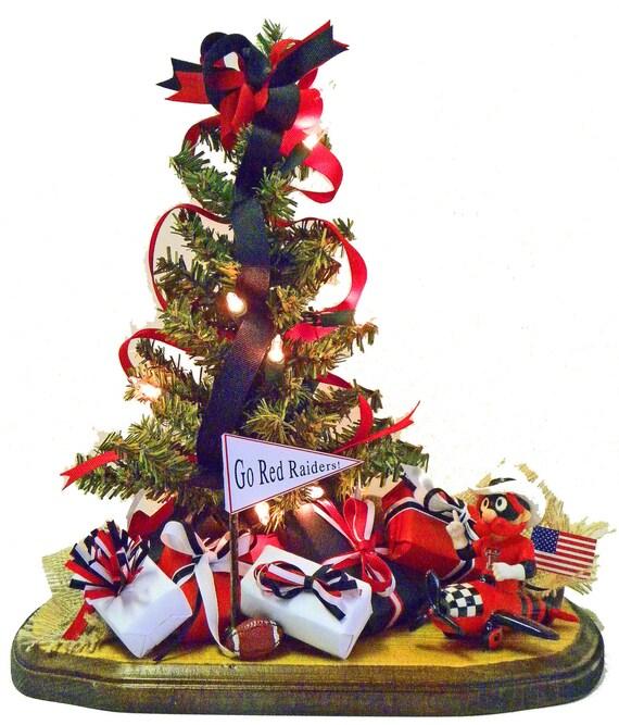 Texas Tech Christmas Tree Texas Tech Raiders By