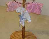 Circular Doll Clothes Rack (optional Finials available)