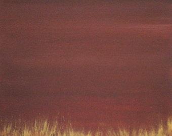 Gold & Brown Painting - Modern Art - Modern Artwork - Modern Abstract Painting - Metallic Painting - Golden V