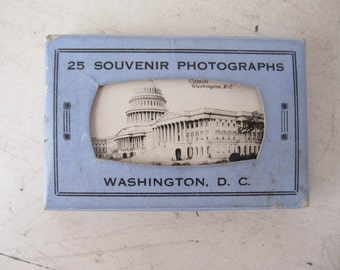 Vintage Washington DC, Souvenir Photographs, 1950s