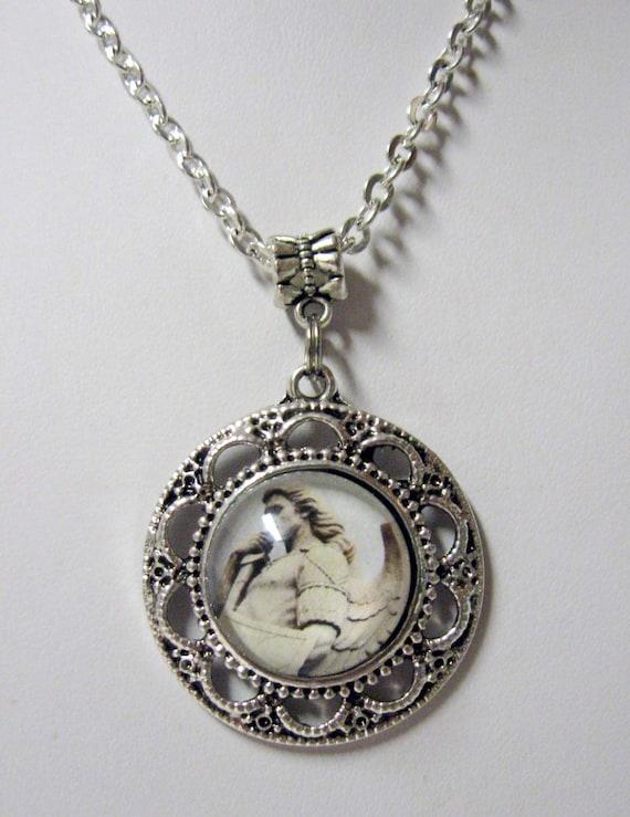 archangel michael pendant with chain ap05 066