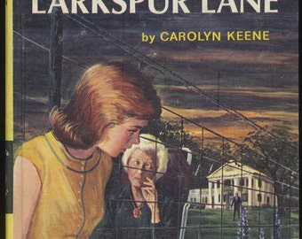 Vintage Nancy Drew Password to Larkspur Lane, Mystery Book, Girl Detective Series, 1960s