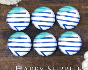 10pcs 12mm (GC12-1082) Handmade Photo Glass Cabochon