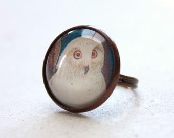 Karin - Owl Ring