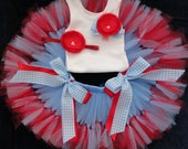 Wizard of Oz Party Tutu Dress Outfit for Baby Girls Birthday