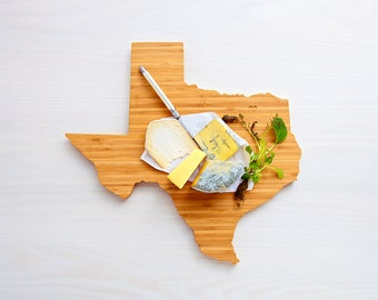 Texas State Cutting Board,Father's Day Gift,   Unique Wedding Gift, Personalized Gift, Summer Wedding GIft, Graduation Gift