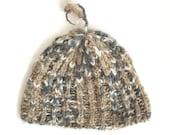 Natural Icelandic Wool Knit Beanie