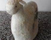 Felted Tea Cozy  - lamb sheep - regular sized - ready to ship