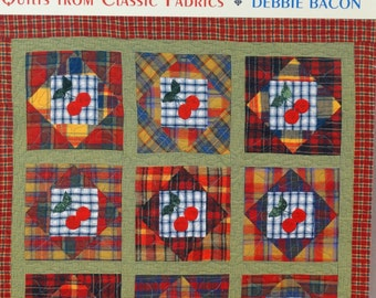Quilt Book / Mad About Plaid / Debbie Bacon / Scrap Quilt Patterns / Traditional Quilt Patterns