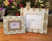 8x10 and 4x6 frame set in neutrals