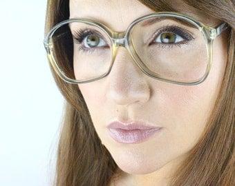 Vintage 80's Oversized German Cover Girl Eyeglasses Frames