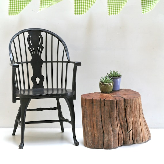 Apple Stump Coffee Table End Stool Seat Night Stand