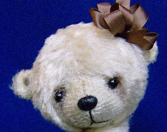 Vanilla Latte Teddy Bear E-Pattern