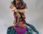 Southwest Indian sculpture Art Doll