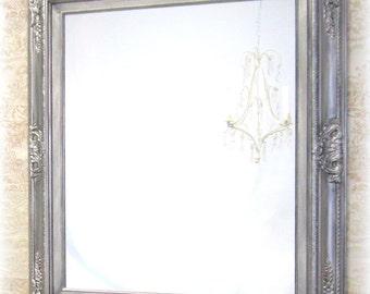 "ORNATE VANITY MIRRORS Bathroom Mirror Framed Baroque Vanity Mirror Wall Mirror 31""x27"" Decorative Ornate Unique Mirror Rectangle"
