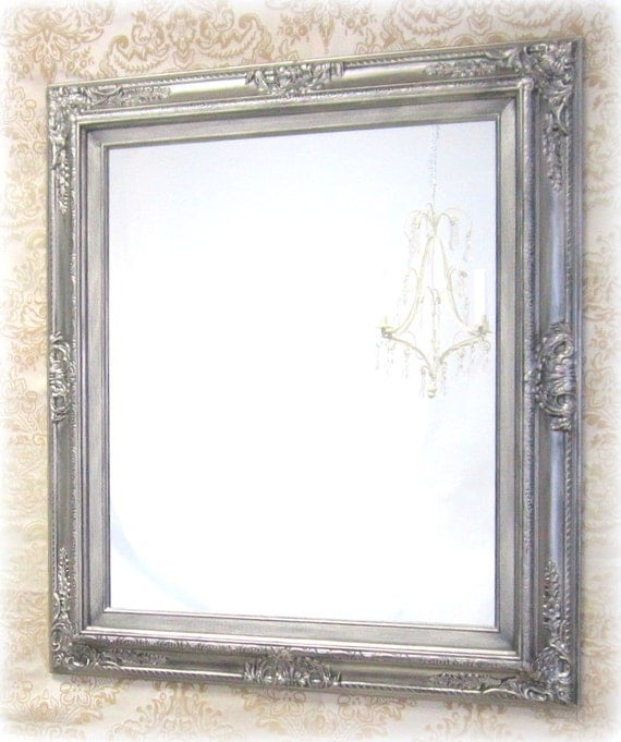 Decorative Bathroom Vanity Wall Mirrors : Ornate vanity mirrors bathroom mirror framed baroque