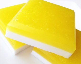 Lemon Sugar Soap - Buttermilk Soap - Lemon Vanilla Soap - Lemon Sugar Soap