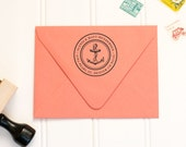 Personalized Rubber Address Stamp by Paper & Parcel - No. 17